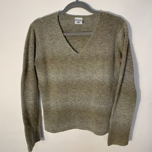 Women's Columbia V-Neck Wool Sweater